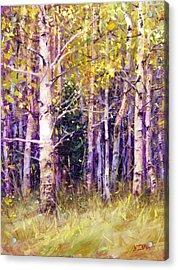 Kissing Tree Acrylic Print by Bill Inman