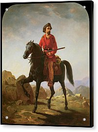 Kit Carson Acrylic Print by William Tylee Ranney