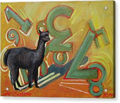 Kit Kat 123 Acrylic Print