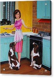Kitchen Companions Acrylic Print