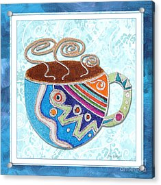 Kitchen Cuisine Hot Cuppa No20 By Romi And Megan Acrylic Print