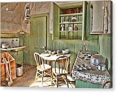 Kitchen In Bodie By Diana Sainz Acrylic Print