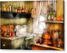 Kitchen - Momma's Kitchen  Acrylic Print by Mike Savad
