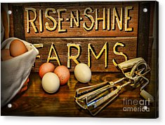 Kitchen  Rise And Shine Acrylic Print by Paul Ward