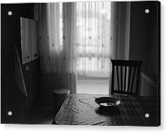 Kitchen Table Acrylic Print