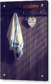 Kitchen Towels Acrylic Print