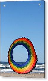 Kite And Dog Acrylic Print