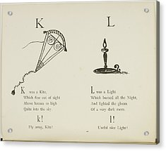 Kite And Light Acrylic Print