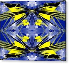 Kite Acrylic Print by Brian Johnson