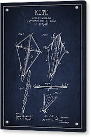 Kite Patent From 1892 Acrylic Print by Aged Pixel