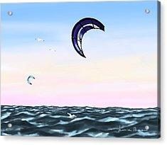 Kite Acrylic Print by Veronica Minozzi