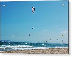 Kitesurf Lovers Acrylic Print