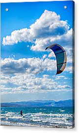 Kitesurfer Acrylic Print
