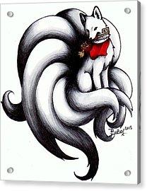 Kitsune Acrylic Print by Bibo