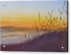Kitty Hawk Daybreak - A Restatement Acrylic Print by Joel Deutsch