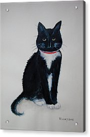 Kitty - Painting Acrylic Print