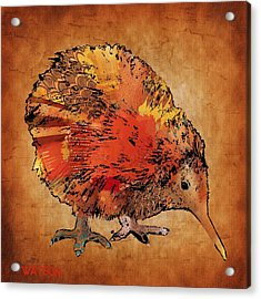 Kiwi Bird Acrylic Print