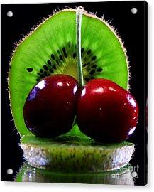 Kiwi Fruit Acrylic Print by Dipali S
