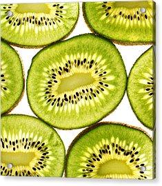 Kiwi Fruit IIi Acrylic Print by Paul Ge