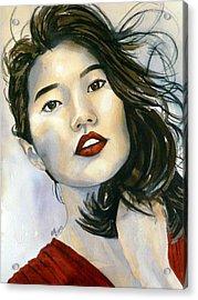 Kiyomi Acrylic Print
