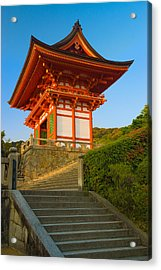 Kiyomizudera Temple Acrylic Print by Sebastian Musial