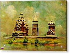 Kizhi Pogost Acrylic Print