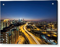 Kl At Blue Hour Acrylic Print by David Gn