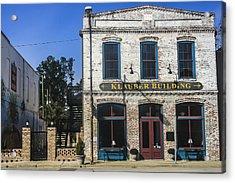 Klauber Building  Acrylic Print by Steven  Taylor