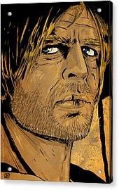 Klaus Kinski Acrylic Print
