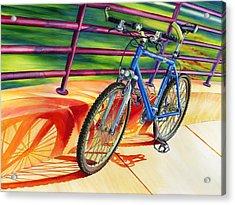 Klein Pulse Comp Acrylic Print