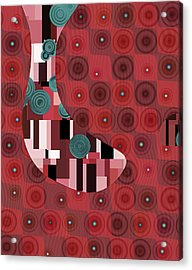 Klimtolli - 01rdbl01 Acrylic Print by Variance Collections