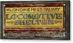 Klondike Mines Railway Acrylic Print by Priska Wettstein