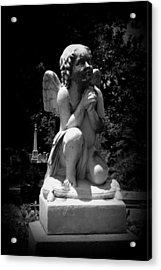 Kneeling Angel Acrylic Print