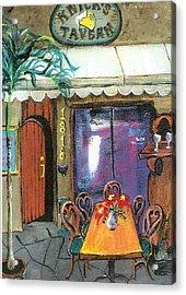 Knicks Tavern Acrylic Print by Lyla Mitchell
