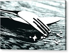 Knife And Fork Acrylic Print by Blink Images
