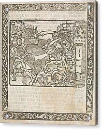 Knights Hospitaller Acrylic Print