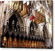 Knights Of St. Patrick 2 Acrylic Print by Mel Steinhauer