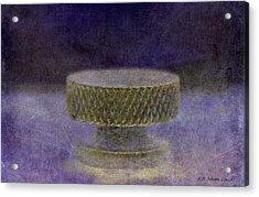 Knob 106 Acrylic Print by WB Johnston