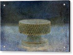 Knob 128 Acrylic Print by WB Johnston