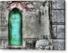 Knock Knock Acrylic Print by JC Findley
