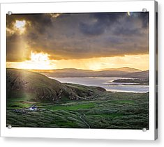 Knockamany Bends Acrylic Print by Kevin Moore