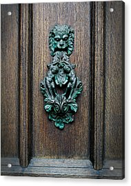 Knocker Acrylic Print