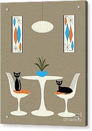Knoll Table Acrylic Print