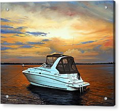 Acrylic Print featuring the painting Knot A Problem by Rick McKinney