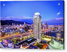 Kobe Japan Acrylic Print by Sean Pavone