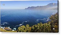 Kogelberg Area View Over Ocean Acrylic Print by Johan Swanepoel
