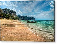 Koh Lanta Beach Acrylic Print by Adrian Evans