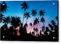 Acrylic Print featuring the photograph Koh Samui Sunrise by Mike Lee