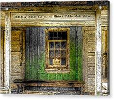 Kohala Mule Station Acrylic Print