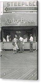 Kohr Bros Frozen Custard Atlantic City Nj Acrylic Print by Joann Renner